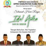 IDUL ADHA DPRD KUBU RAYA