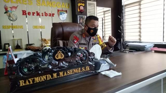 Kapolres Sanggau, AKBP. Raymond M Masengi