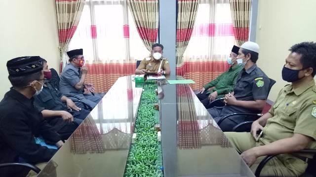 PCNU ketika beraudiensi dengan Bupati Sanggau membahas berbagai agenda kerja.