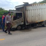 Kecelakaan lalu lintas kembali terjadi di Sanggau. Kali ini, menimpa pengendara sepeda motor merk scopy KB 6230 BF dan pengemudi mobil box