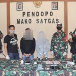 Satgas Pamtas RI - Malaysia Yonif 642/Kapuas menggagalkan upaya penyelundupan narkotika jenis sabu seberat 38,3 gram