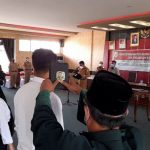 Bupati Sanggau ketika membacakan sumpah dan janji P3K di lingkungan Pemkab Sanggau.
