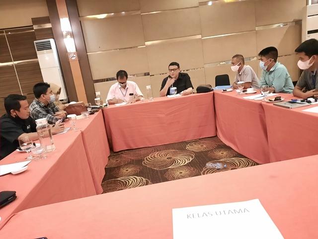 Uji Kompetensi Wartawan (UKW) yang diselenggarakan Dewan Pers di Pontianak pada bulan Februari 2021 lalu.