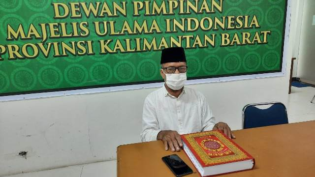Ketua Majelis Ulama Indonesia Kalbar HM Basri Har