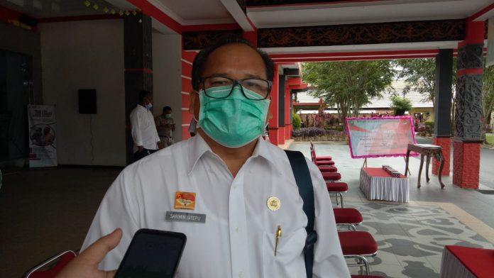 Kabid Pencegahan dan Pengendalian Penyakit Dinas Kesehatan Sanggau Sarimin Sitepu