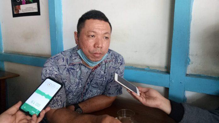Ketua DPP Pemuda Dayak Kabupaten Sanggau (PDKS), Krismono.