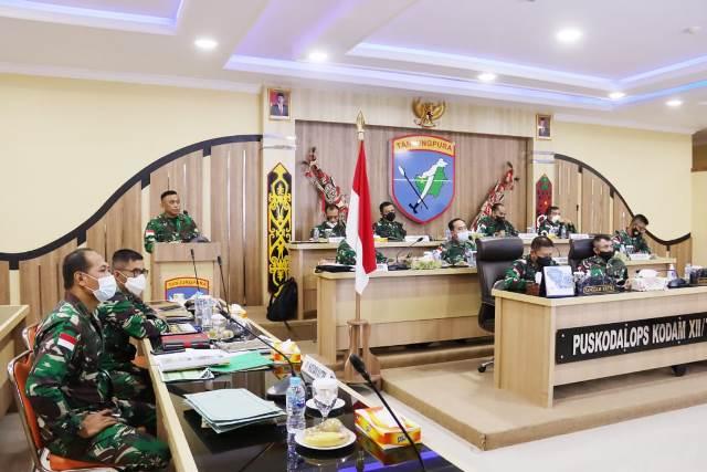Pangdam XII/Tpr Mayjen TNI Muhammad Nur Rahmad