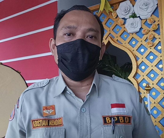 Kasi Penanganan Bencana, BPBD Kabupaten Sanggau, Kristian Hendro.