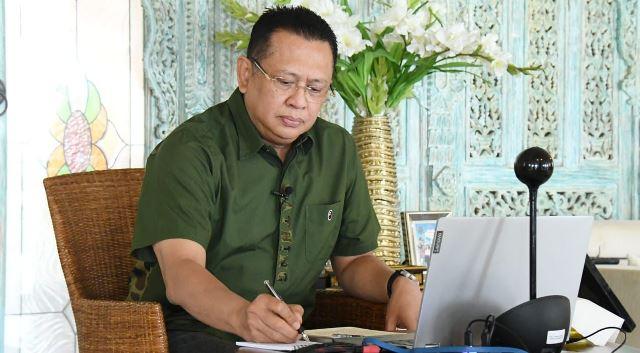 Ketua MPR RI Bambang Soesatyo menekankan pentingnya olahraga dikembangkan sebagai sebuah industri