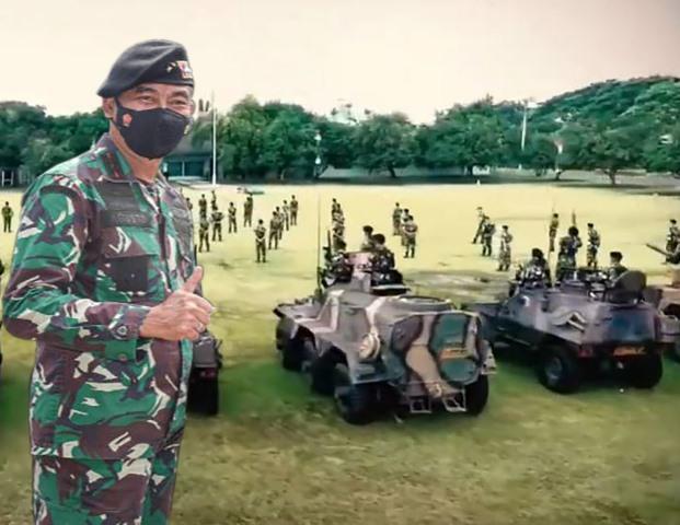 Mayjen TNI Sulaiman Agusto, Komandan Kepala Kesenjataan Kavaleri (Danpussenkav) TNI AD menjadi Panglima Kodam XII Tanjugpura menggantikan Mayjen Nur Rahmad yang menempati jabatan baru sebagai Kepala Staf Kostrad