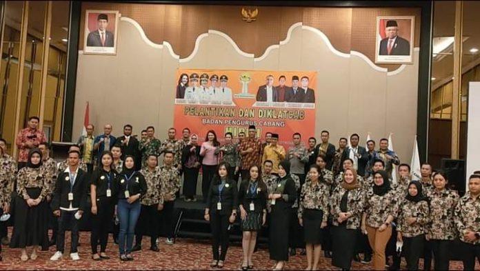 Empat BPC Himpunan Pengusaha Muda Indonesia (HIPMI) masa bakti 2021-2024 dilantik serentak di Kota Singkawang