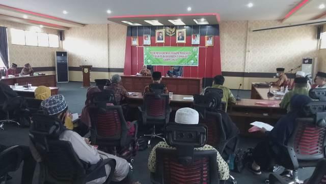 Orientasi Dewan Hakim yang di Gelar LPTQ Kabupaten Sanggau dalam rangka persiapan MTQ.