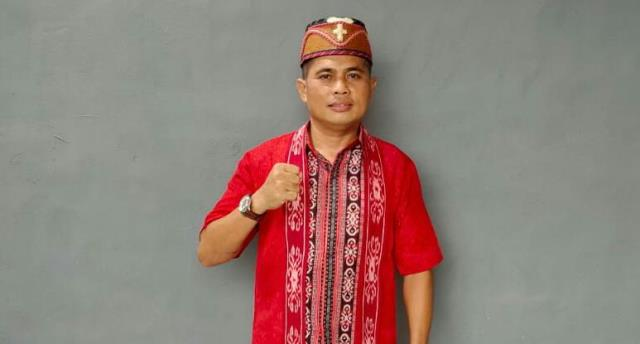 Heriyanto terpilih sebagaii Ketua Dewan Adat Dayak (DAD) Kecamatan Tayan Hulu periode 2021-2026.
