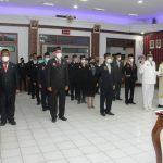 23 orang pejabat di lingkungan Pemkab Sanggau dilantik, terdiri dari 8 orang pejabat eselon II dan 15 orang pejabat eselon III